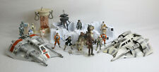 Star Wars Hoth REBEL SNOWSPEEDER and Vintage Echo Base Lot