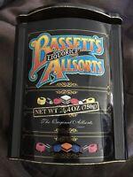 Bassett's Allsorts Liquorice Collectors EMPTY Tin 26.4 oz (750g)