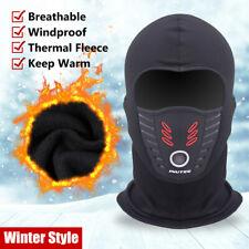 A Prueba de Viento Transpirable campana pasamontañas Polar Polar Invierno Máscara Facial para Hombres Mujeres