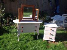Mirror Vintage/Retro Bedroom Furniture Sets with 3 Pieces