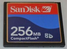 SanDisk 256MB CF Compact Flash Memory Card