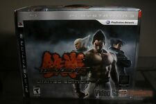 Tekken 6 Limited Edition (PlayStation 3, PS3 2009) OPEN BOX - SEALED CONTENTS!