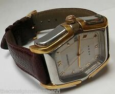 18K 750 ROSE GOLD LUCIEN ROCHAT KRON SELF WINDING ORIGINAL BOX VINTAGE