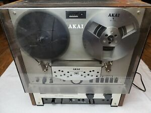 Akai GX-266D Stereo Reel To Reel Tape Recorder TESTED WORKING