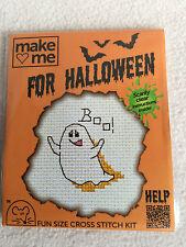 MOUSELOFT cross stitch kit ~ me faire pour halloween ~ ghost ~ nouveau