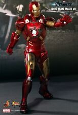 """Hot Toys Iron Man Mark VII 7 The Avengers 1/6 12"""" Action Figure NEW NRFB MMS185"""