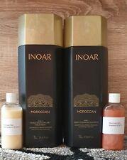 Inoar Moroccan Brazilian Keratin Treatment Blow Dry Hair Straightening Kit Multi