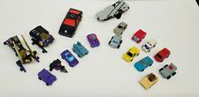 Lot Of Assorted Vintage G1 Transformers, Micro Masters & Insecticons, Runabout!