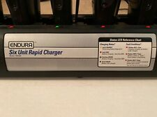 Endura TWC6M Six Unit Rapid Charger - w/Power Supply