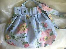 Cotton Ladies Floral Pleated Mini Shoulder Bag