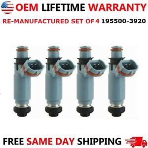 Genuine DENSO Set of 4 Fuel Injectors for Subaru Impreza WRX 2.0L I4 2002-2005