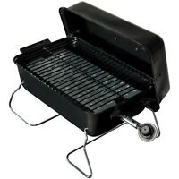Portable Gas Grill Outdoor Propane Camping Barbecue BBQ Cooker Smoker Black