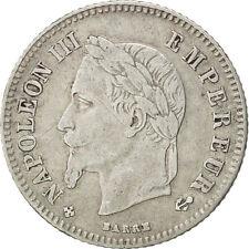 Monnaies, Second Empire, 20 Centimes, Napoléon III, 1864, Strasbourg, KM #73494