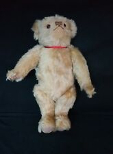"LTD Merrythought Mohair 18"" Bear Golden Brown jointed growler"