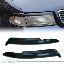Unpainted for Audi A4 B5 Headlight Eyelids Eyebrow Cover RS4