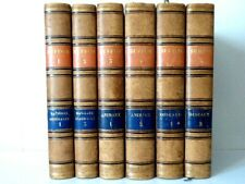 BUFFON - Oeuvres complètes - 6 volumes - Furne 1853 - Planches couleurs
