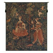 """Broderie Embroidery Tapestry Wall Hanging H 46"""" x W 38"""""""