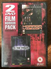 HORROR VISION / IN THE WOODS ~ Cult Horror Double Bill UK DVD