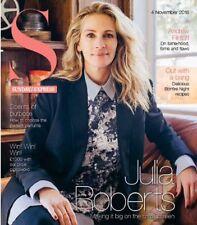 UK S Mag NOV 2018: JULIA ROBERTS Cecelia Ahern ANDREW FLINTOFF Miranda Raison