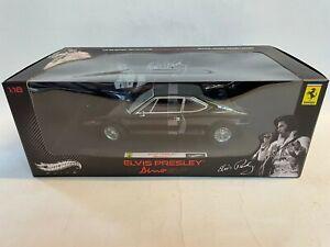 Hot Wheels Elite Ferrari Dino 308 GT4 ELVIS PRESLEY black 1975 1/18 V7425