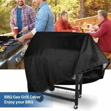 BBQ Cover Heavy Duty 210D Waterproof Garden Barbeque Grill Gas Protector UK SHIP