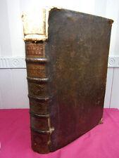 LA SAINTE BIBLE Maistre de Saci vol in folio ( rare )