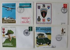 GB  1969 Conquest Blue Nile  1970 VE Day Burma Campaign Air Mountains  Cover x 4