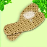 1 par olor de menta plantillas deportivas sudor absorbente plantillas de zap*QA