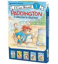 Paddington Bear Collector's Quintet BOXED SET 5 Paperback Readers in Slipcase