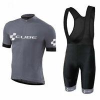 2019 Mens Cycling Jersey Short Set 2019 Grey Mens Cycling Jersey Bib Short Set