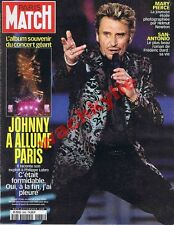 paris Match n°2665 du 22/06/2000 Johnny Hallyday Paris San-Antonio Frédéric Dard