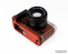 Kamera Griff für Fuji X-E3 aus Padouk Holz von JB Camera Designs | Made in USA