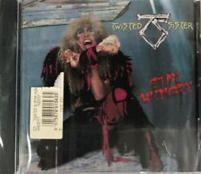Twisted Sister - Stay Hungry (CD Atlantic) Brand NEW with crack