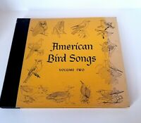 American Bird Songs Volume 2 two LP Cornell University vg+