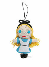 "NEW Disney ALICE IN WONDERLAND Blue dress 2 1/2"" String Voodoo Doll Figure"