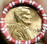 1982 P LARGE DATE COPPER LINCOLN CENT OBW ROLL PENNY BU SUPER NICE COINS!