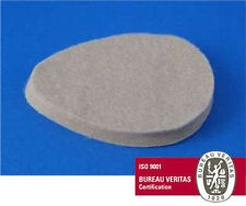"#251 Metatarsal Adhesive Flesh Felt Oval Pads 1/4"" 100/BG Pre-Cut 251 Cookie USA"