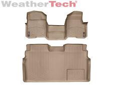 WeatherTech Floor Mat FloorLiner - Ford F-150 - SuperCrew OTH -2010-2014-Tan
