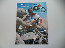 advertising Pubblicità 1975 MOTO MALAGUTI CAVALCONE CROSS 125