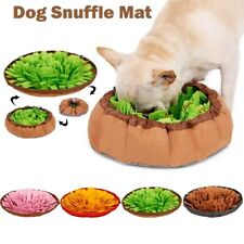 48x48cm Pet Dog Snuffle Mat Nose Training Sniffing Pad Fun Toy Feed Mats Cushion