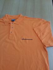 Polo Shirt Bademeister / Schwimmmeister orange Herren  Größe XXL 100% Baumwolle