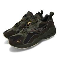 Mizuno Wave Rider 1 Black Brown Green Men Running Lifestyle Shoes D1GA1934-55