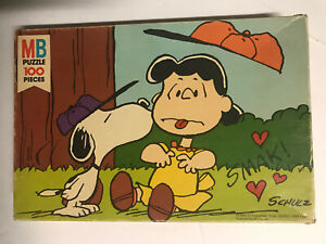 Vintage 1971 Snoopy Jigsaw Puzzle Braces Make Beautiful Faces Sealed New Old Stock Charles Schulz Peanuts 100+ Piece Puzzle
