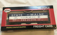 HO SCALE MODEL POWER #98259 STATE OF MAINE 40' GENERATION 2 STEEL REEFERS