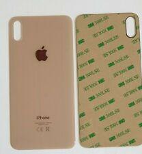 iPhone XS MAX Akkudeckel Backcover  Rückseite aus Glas Gold