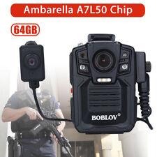 Dvr 1290P 33Mp Hdmi 64Gb Security Hd Lens Body Worn Camera Motion Detection 140°