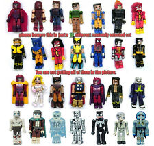 Lot of 10 Lego Minimates Marvel DC X-Men Lotor Super Hero Random Action Figure