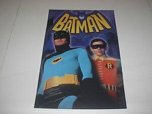 DC COMICS BATMAN & ROBIN TV SERIES MOVIE POSTER PIN UP