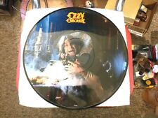 Ozzy Osbourne 1981 Picture Disc Live Mr. Crowley 37640 Great Cond No Album Cover