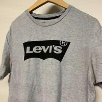 LEVI'S Big Logo T Shirt Tee Grey Top | Large L